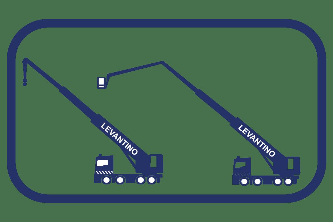 Noleggio Autogru, Piattaforme e Scale da trasloco